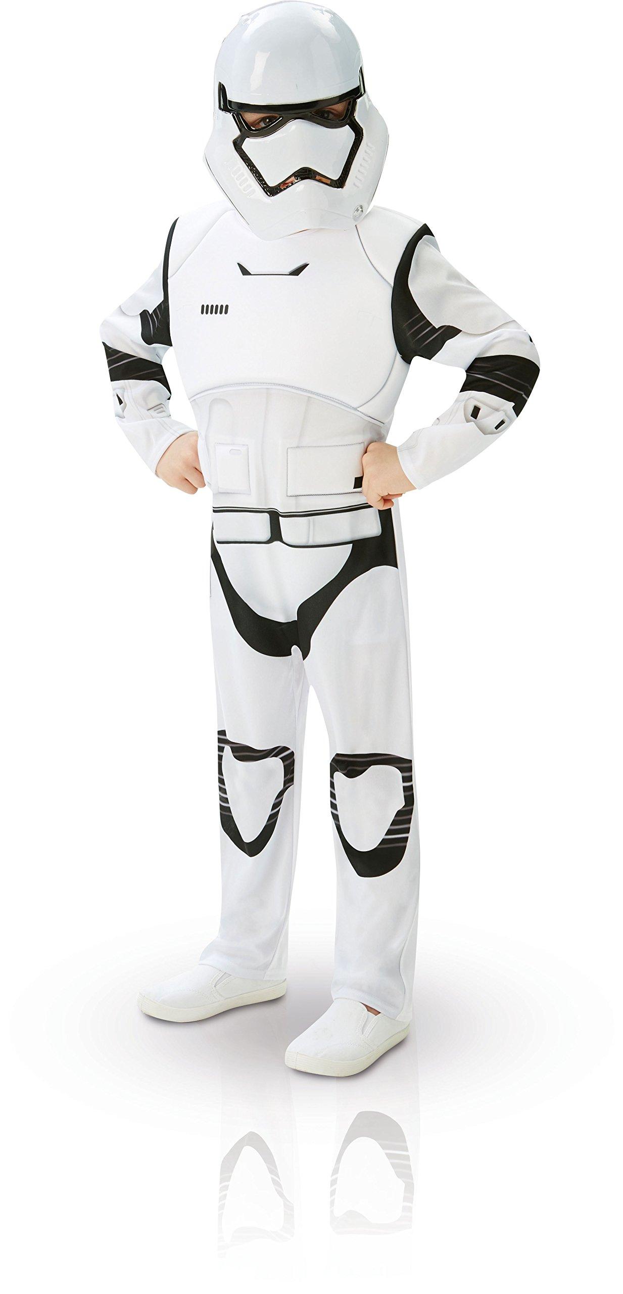 Star Wars, Disfraz de Villain Trooper, Episode 7, Deluxe para niños (Rubie's 62026), M (5/6 años) product image