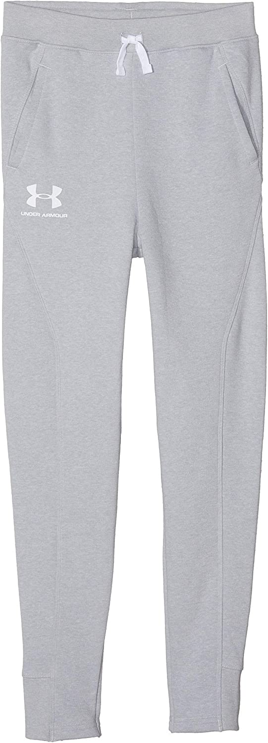 Under Armour Boys' Rival Solid Joggers: Clothing