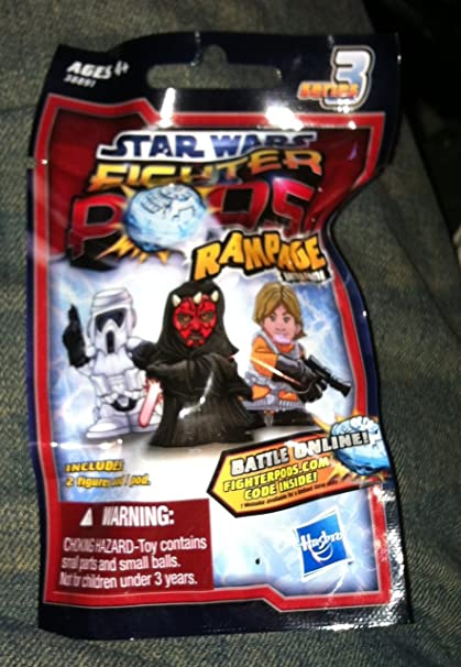 Amazon Com 1 Pack Star Wars Fighter Pods Series 3 Rampage