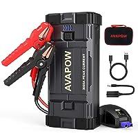Deals on AVAPOW Car Battery Jump Starter, 3000A Peak 23800mAh