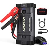 AVAPOW Car Battery Jump Starter Portable,3000A Peak 23800mAh,12V Jump Boxes for Vehicles(Up to 8L Gas/8L Diesel Engine),Auto