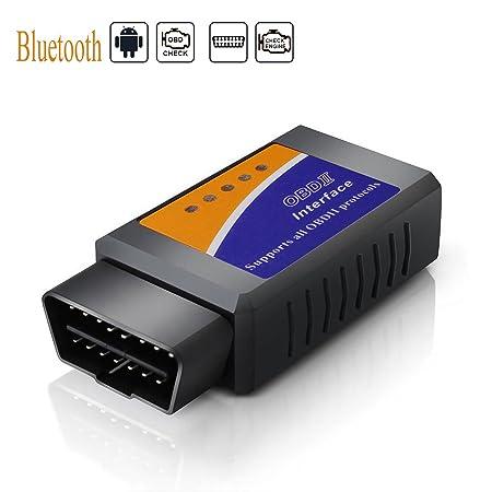 OBD2 Bluetooth Mini Adaptateur Sans-Fil Scanner Code de Défaut pour Véhicule Mini Outils: Amazon.es: Coche y moto