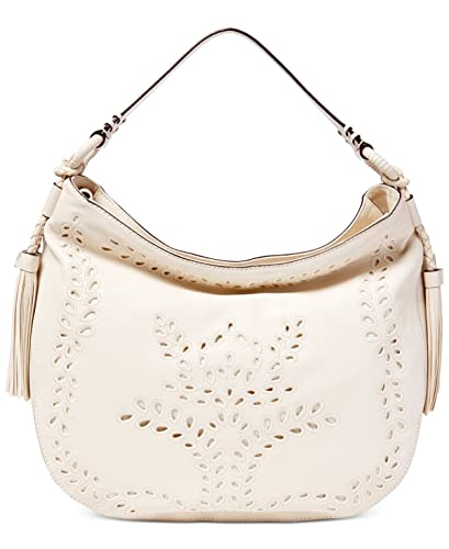 82d7d84963e8 Amazon.com  Lauren Ralph Lauren Womens Barlow Jamie Genuine leather Hobo  Handbag White Large  Shoes