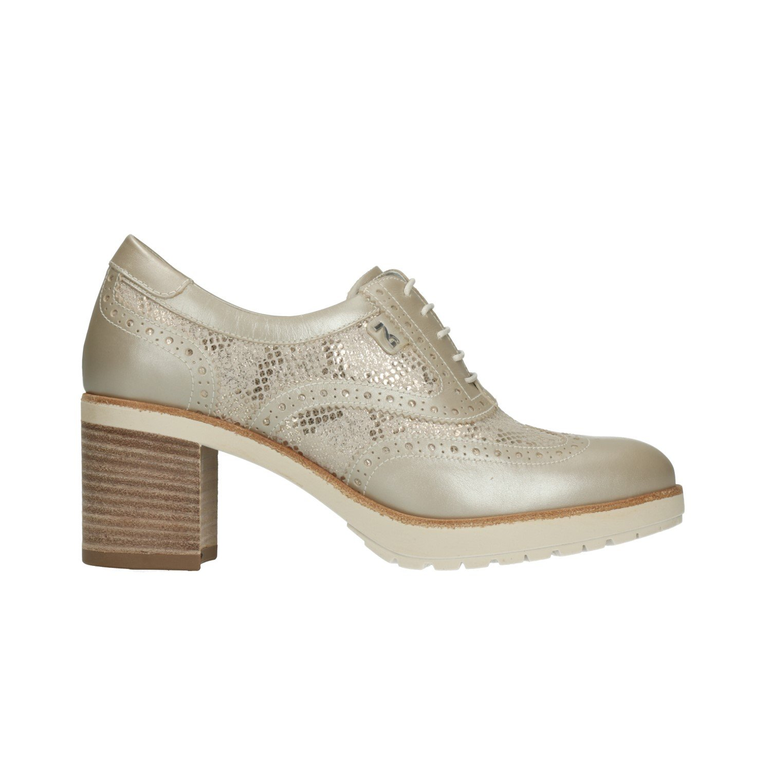 COOLWAY, Cassie bianca Military Ankle stivali for Donna