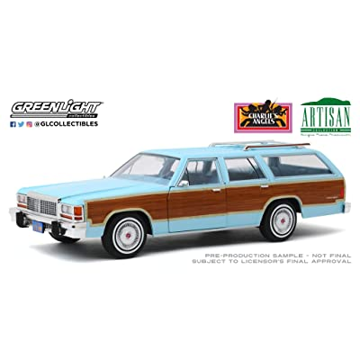 Greenlight 19066 1: 18 Artisan Collection - Charlie's Angels (1976-81 TV Series) - 1979 Ford Ltd Country Squire - New Tooling: Toys & Games