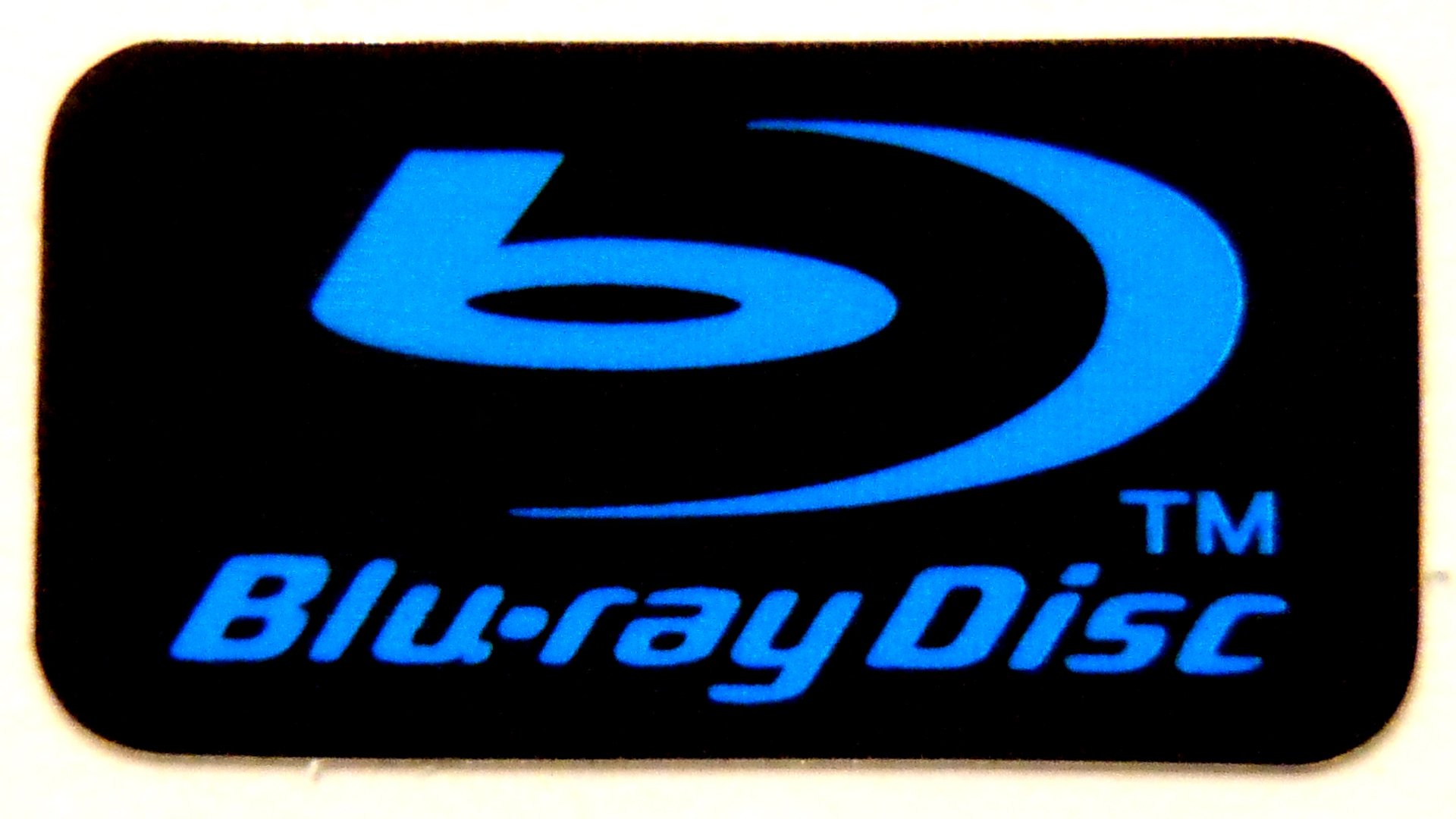 Blu-ray Disc Sticker 10.5 x 20mm [449]