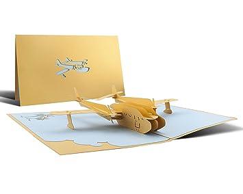 Hochzeitkarte Flitterwochen Oder Gutschein Fur Reise Mit Flugzeug