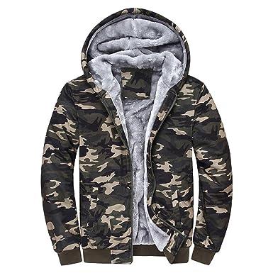 De Manteau Pour D'hiver Luckygirls Veste Hommes Camouflage Plus E0vd1q1xw