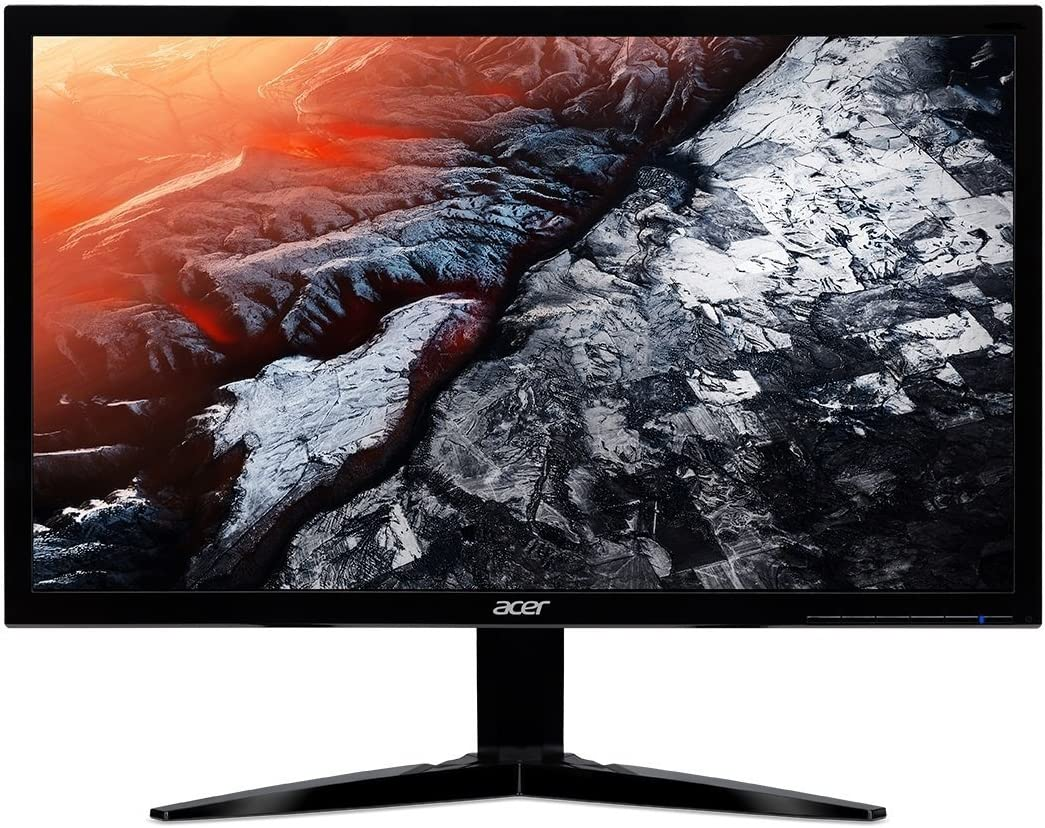 Acer 23.6in Widescreen LCD Monitor Display Full HD 1920 x 1080 1ms TN Film|KG241Q (Renewed)