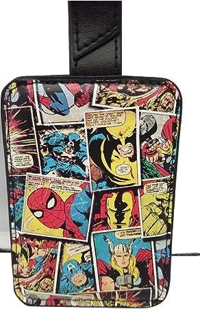 Marvel Comic Mania etiqueta para equipaje con caja de regalo.: Amazon.es: Equipaje