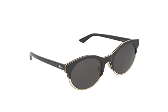 9711b4834cda7 Image Unavailable. Image not available for. Color  Christian Dior  Sideral 1S Sunglasses Black Rose Gold Gray
