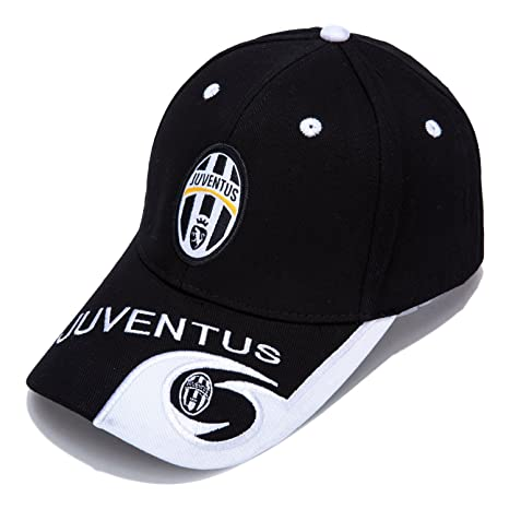 DanielFelix Juventus F.C. -Embroidered Authentic EPL Adjustable Black  Baseball Cap 6a64e045c049