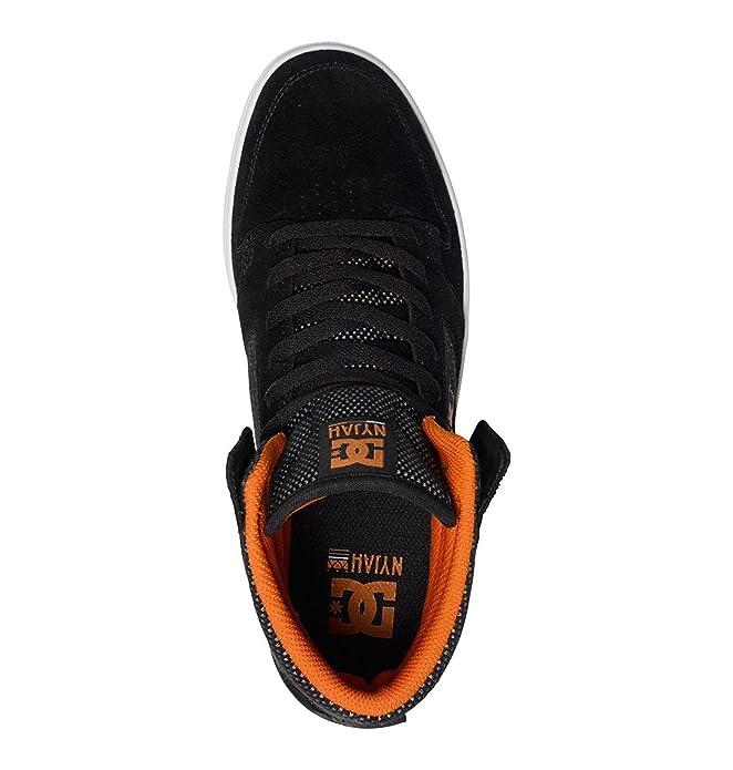 c2c9bccda097c DC Shoes Tenis de Botín DC Nyjah High Se M Shoe Blo Tenis para Hombre Negro  Talla 25.5  Amazon.com.mx  Ropa