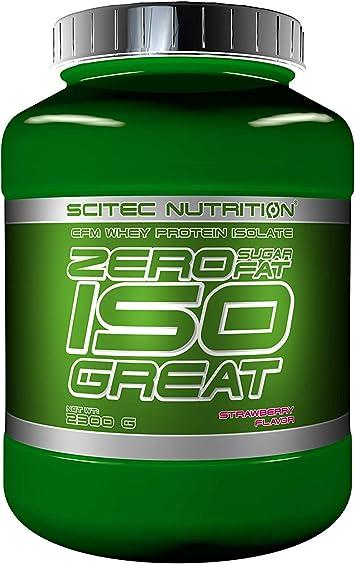Comprar Scitec Nutrition Zero Isogreat Proteína Cero Azúcar/Cero Grasa Fresa - 2300 g