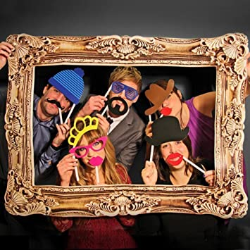 Photo Booth Props Large Picture Frame 24pcs Photo Props Amazonco