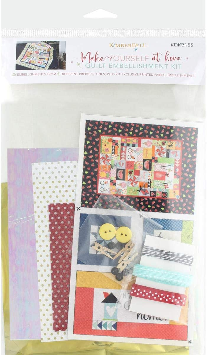 Kimberbell Make Yourself at Home Quilt Embellishment KIT