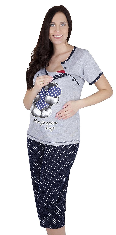 Mija - 2 in1 Maternity & nursing 2-peace Pyjama Set 2062