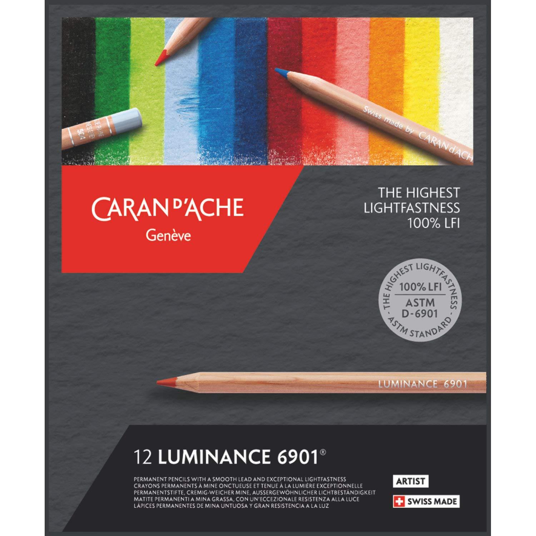 Caran d´ Ache 6901.712 Luminance 12 Stifte Caran d´Ache