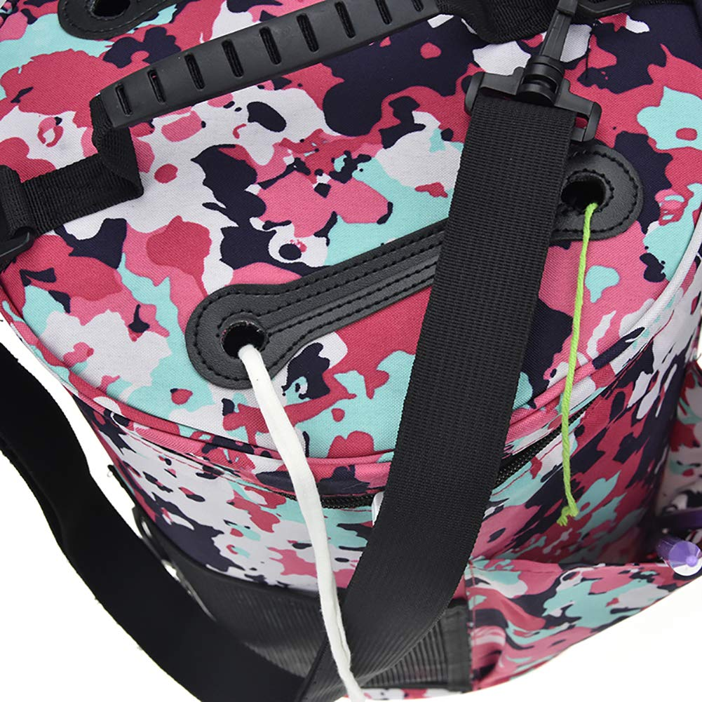 Utility Knitting Bag Yarn Storage, Durable Yarn Organizer Crochet Bag, Enjoy Outdoor Knitting Crocheting Yarn Storage Bag Protect Yarn and Prevent Tanglin (6#) by Hersent (Image #3)