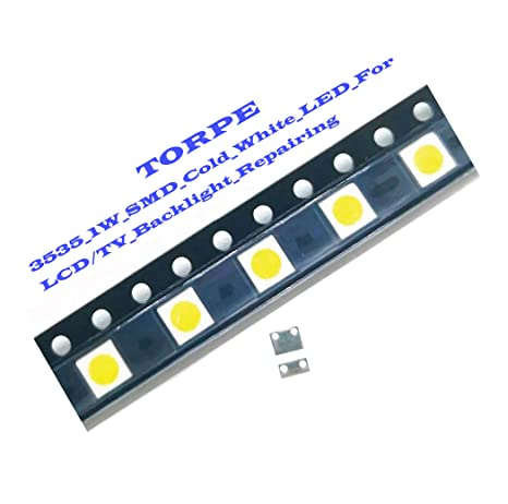 TORPE_1W_3V_3535_SMD_LED_Cold_White_100lm_Cold_White_Backlit_LCD_Backlight_for_TV_Repairingr_ Qty.5PCS