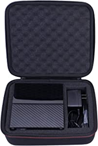 LTGEM EVA Hard Case for WD 3TB,4TB,6TB,8TB,10TB My Book/Elements Desktop External Hard Drive - Travel Protective Carrying Storage Bag (Black)