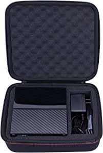 LTGEM EVA Hard Case for WD 3TB,4TB,6TB,8TB,10TB My Book Desktop External Hard Drive - Travel Protective Carrying Storage Bag (Black)