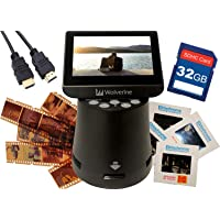 """Wolverine Titan 8-in-1 20MP High Resolution Film to Digital Converter with 4.3"""" Screen and HDMI Output, Worldwide…"""