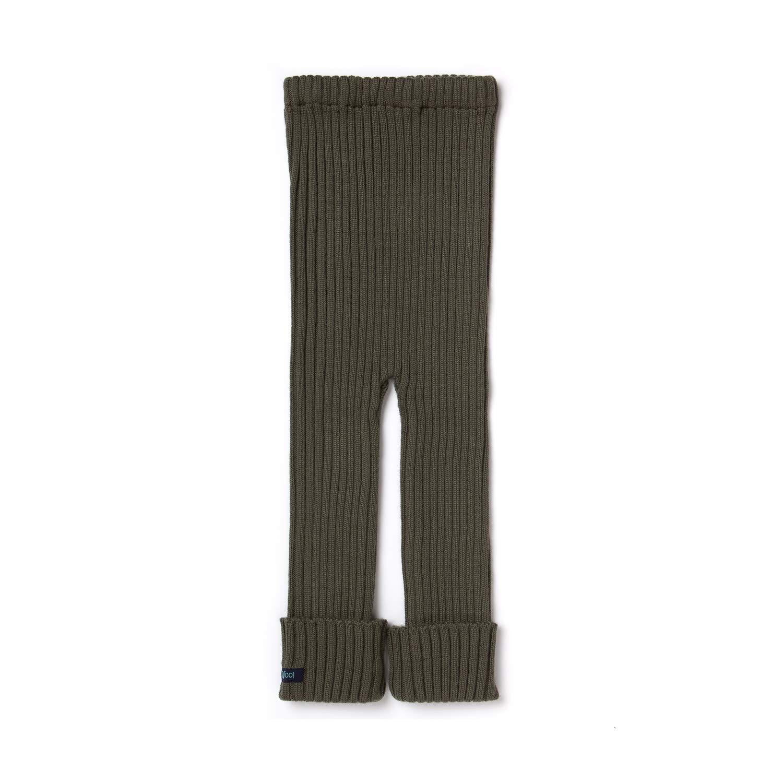 Organic 100/% Merino Wool Olive Green Thick Ellas Wool Tubes Soft