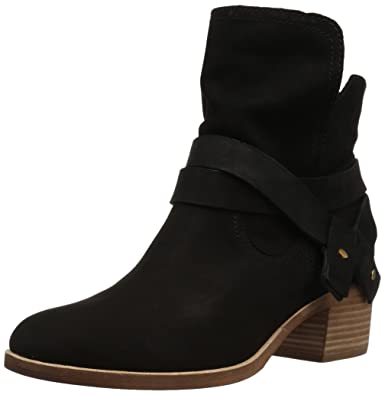 UGG Women's Elora Ankle Boot,Black,10 ...