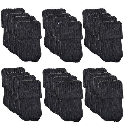 sinderay 24 LED de muebles de lana para tejer calcetines/pata de la silla piso