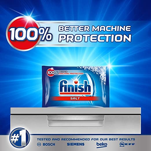 Amazon.com: Finalizar lavaplatos Sal 5 kg (Pack de 2 ...