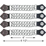 2-Pack Mens POW//MIA Vest Extenders High Quality-Leather-Snap On Button