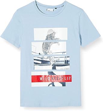 IKKS Junior tee-Shirt Bleu Ciel Skate Camiseta para Niños ...