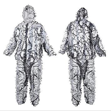 Amazon.com: ZFTEF - Traje de camuflaje con capucha para ...