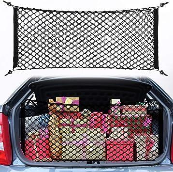 Carga Almacenaje Coche Hatchback SUV Maletero Equipaje Nailon Red plus soporte
