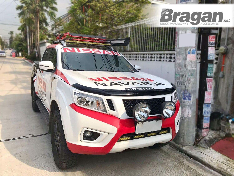 Fitting Kit Bragan BRAH481213 SUV 4x4 Van Bonnet Guard Shield Protector Smoked Tinted Transparent Acrylic