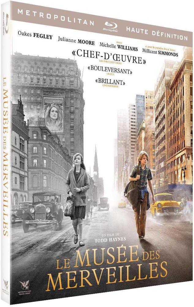 Blu-ray du film Le musée des merveilles
