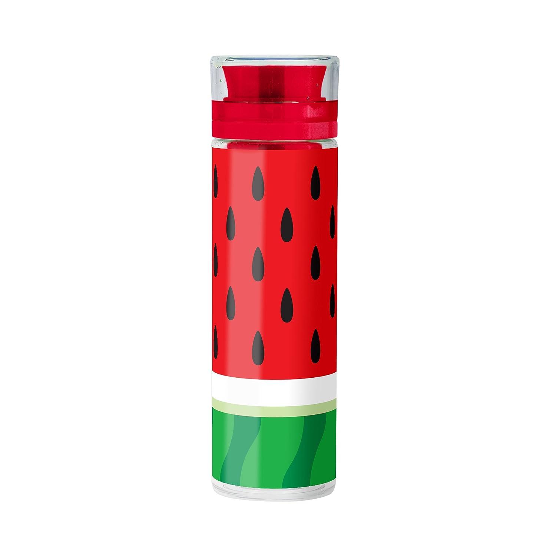 Mustard Infusing Bottle - Botella de Agua para infusión de Frutas, de plástico I para Acampada, Camping, Gimnasio, Yoga - diseño de piña M16089B