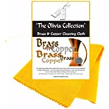 TOC Brass & Copper Anti Tarnish Cleaning & Polishing Cloth, 440mm x 315mm