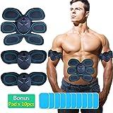 DALEMY Abdominal Toning Belt,Abs Trainer Body Muscle Toner, Waist Trimmer Belt, Abs Fit Training, Ab Belt Toning Gym Workout Machine