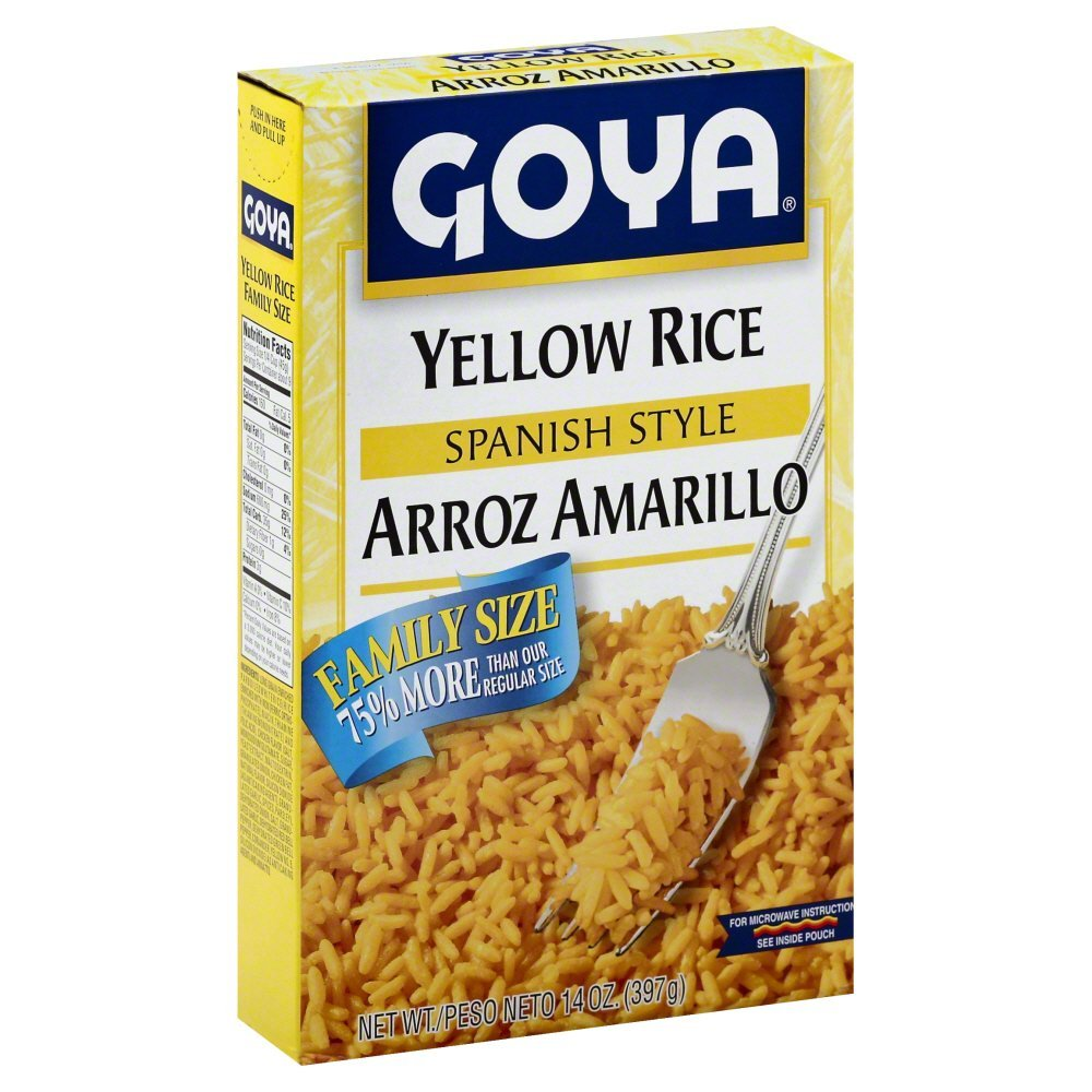Goya Foods Yellow Rice, 14 oz