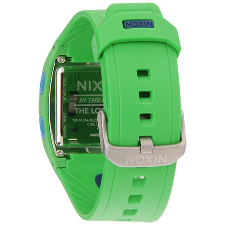 Amazon.com: Nixon Lodown Watch - Mens Green/Blue/Navy, One ...