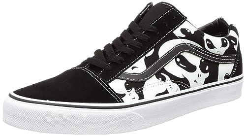 Old Skool True White Sneakers-11 UK
