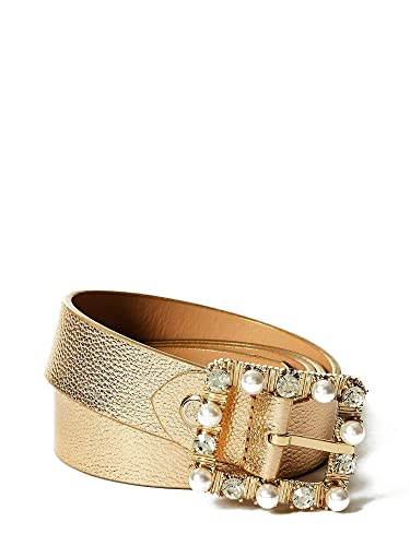 f87cdf9d3684 Guess Ceinture Femme Summer Night City Gold  Amazon.fr  Chaussures ...