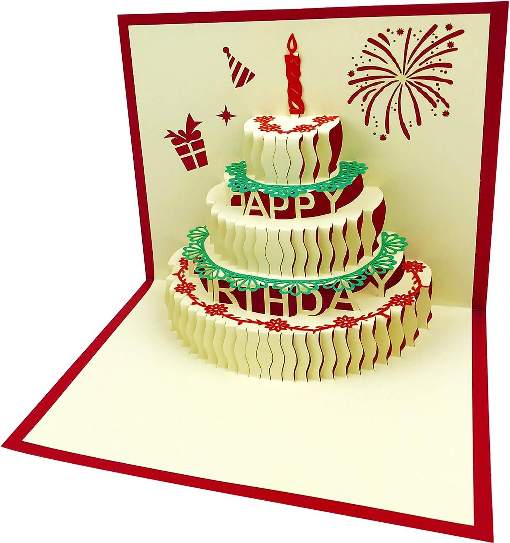 Fabulous Amazon Com 3D Pop Up Birthday Cards Birthday Greeting Cards Funny Birthday Cards Online Benoljebrpdamsfinfo