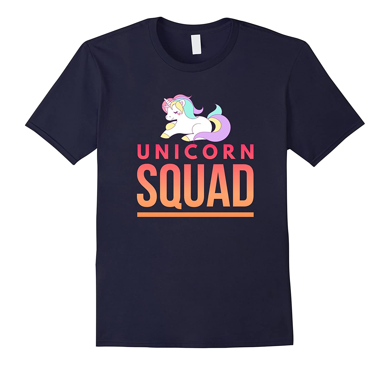Unicorn Squad teenagers awesome funny t-shirt