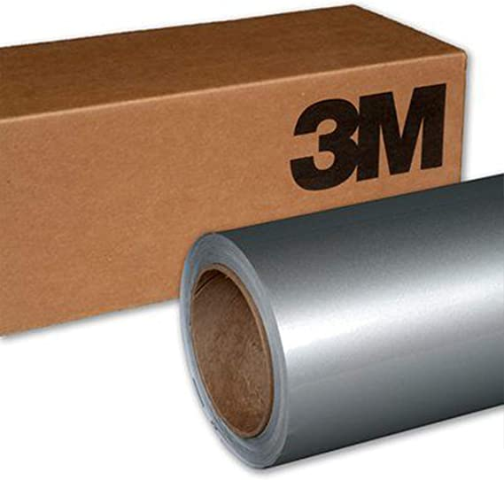1//2ft x 5ft 3M 1080 Satin White Air-Release Vinyl Wrap Roll