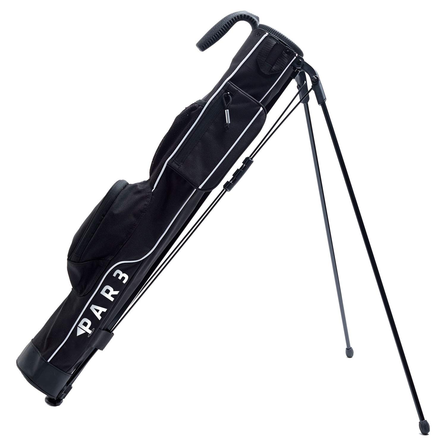 Par3 Golf [New] Lightweight Sunday Golf Bag with Stand - Easy to Carry & Durable Pitch n Putt Golf Bag - Golf Stand Bag for The Driving Range, Par 3 & Executive Courses - 31.5'' Tall