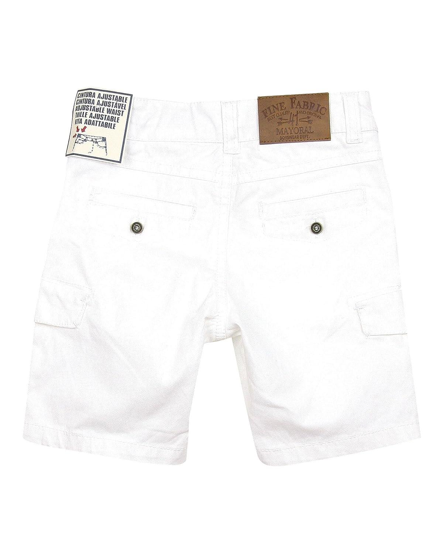 Sizes 2-9 Mayoral Boys Bermuda Shorts with Cargo Pockets