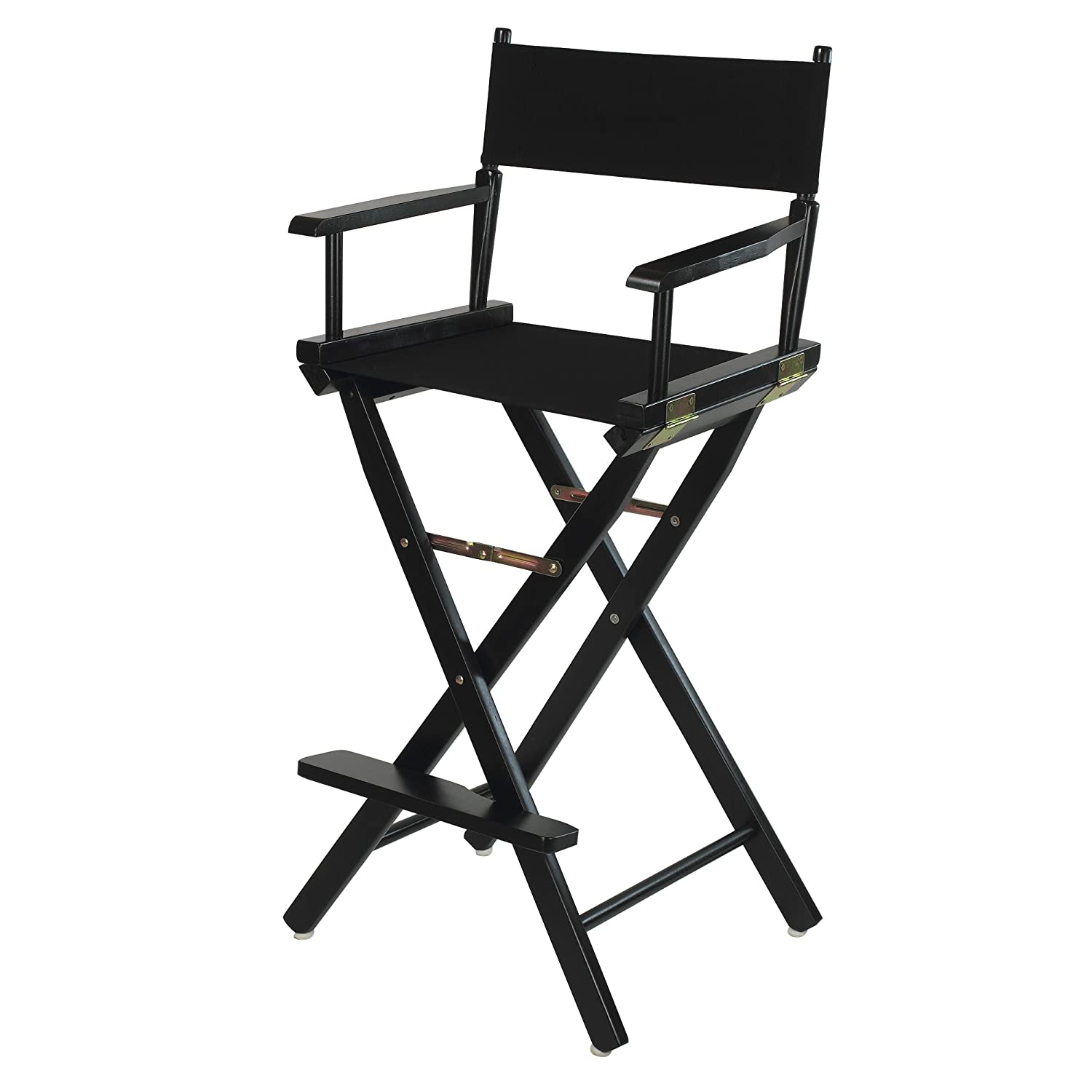"""Amazon Casual Home 30"""" Director s Chair Black Frame with"""